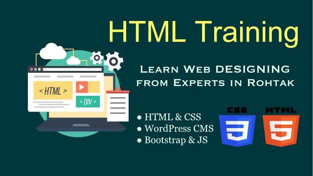HTML & CSS (Web Designing) Training