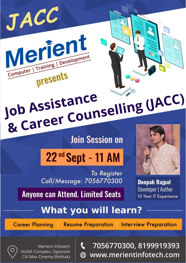 Job and Career Counselling (JACC)